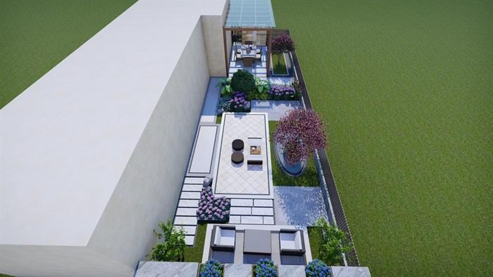 別墅景觀設計(3)