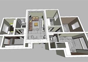 精美的欧式风格住宅室内设计