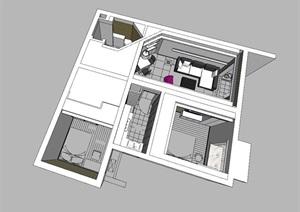 精美的北欧风格公寓室内设计