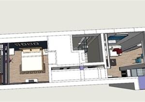 现代北欧风公寓房室内设计