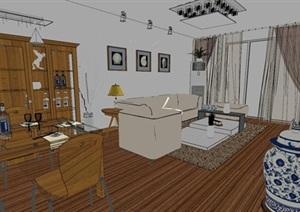 精美的日式风格别墅室内设计