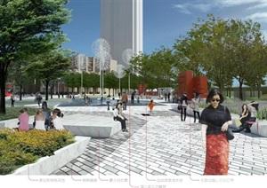 苏南万科吴江新港天城公园里(示范区)景观设计整套CAD施工图(附PDF方案高清文本+实景图片)