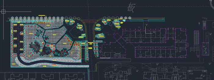 蘇南萬科吳江新港天城公園里(示范區)景觀設計整套CAD施工圖(附PDF方案高清文本+實景圖片)(9)