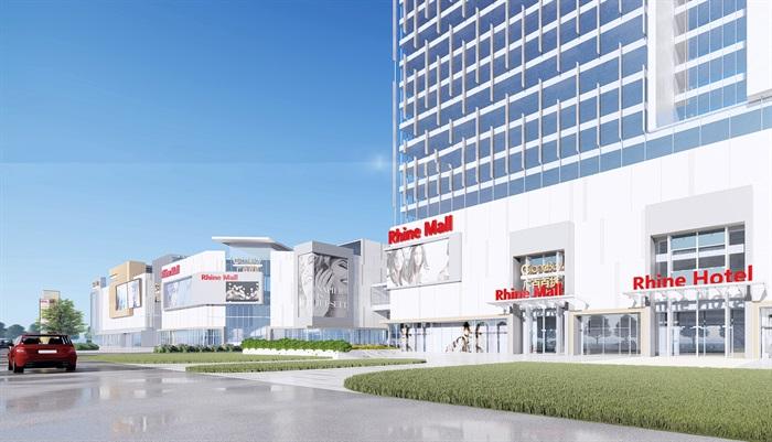 某现代风格酒店综合商业广场su精细模型(3)