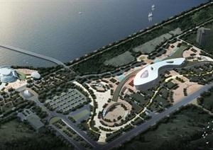 2个徐州市民活动中心建筑设计方案(附CAD建筑平面图)