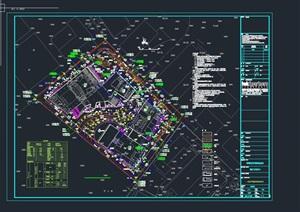 观澜文化体育中心建筑设计方案(附CAD区位图与总平面图)