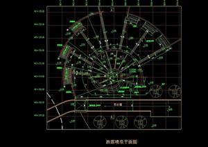 详细的完整喷泉设计cad施工图