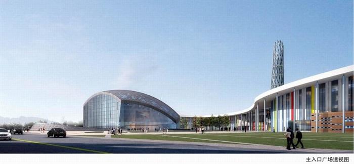 南京溧水文化艺术中心建筑设计方案(2)