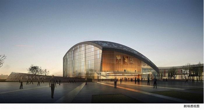 南京溧水文化艺术中心建筑设计方案(3)