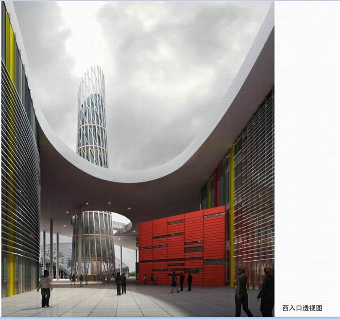 南京溧水文化艺术中心建筑设计方案(5)