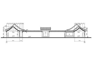 仿古四合院办公建筑方案 施工图