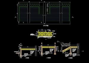 详细的完整平台设计cad施工图