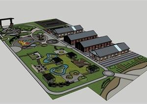 旧工厂厂区改造工业公园景观改造设计
