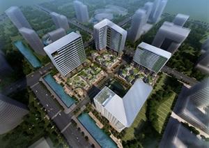 某市绿地吴江A地块办公园区概念方案