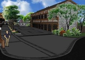 西南某古镇街道景观提升设计03