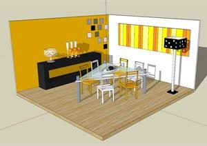 精美的现代简约风餐厅室内设计