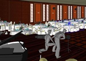古典风格大酒店室内设计