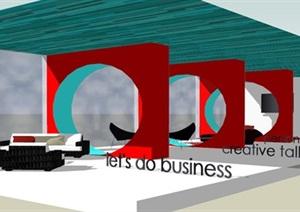 现代风格办公空间室内设计