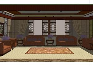 古典风格会议室室内设计