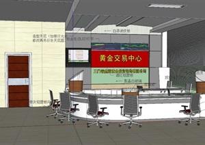 黄金交易中心设计室内设计