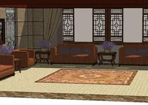 古典风格会客室室内设计