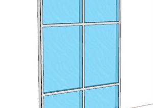 现代风格门窗素材SU(草图大师)模型