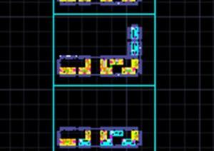 某物流仓储楼建筑设计cad图
