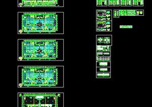 某配送中心建筑设计方案cad图