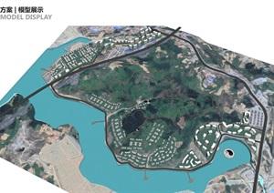 武当山康养特色小镇建筑规划概念设计方案