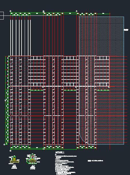武汉火神山+雷神山医院全套建筑CAD施工图纸(电气+给排水+暖通+结构)(9)