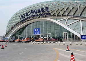 上海吴淞口客运中心建筑设计方案SU(草图大师)模型