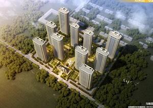 邯郸绿城北湖锦绣住宅小区项目建筑规划设计方案