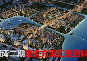 绿地宁波杭州湾二期建筑规划设计方案