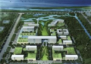 青岛市红岛医院建设项目规划与建筑设计(附CAD总平面图)