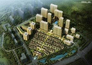 祥隆绿城诚园建筑规划设计方案