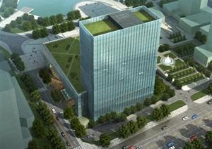 青岛理想之城D-2-4地块喜来登酒店项目建筑规划设计方案
