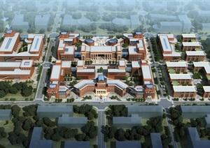 中国西安西部科技创新港科研教育板块概念性