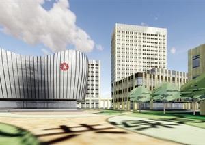 某市萧山科技城传化国际科创园