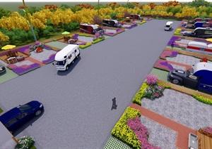 創意汽車營地模型創意汽車營地模型