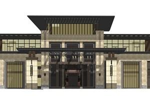 新中式售楼部会所2017.08