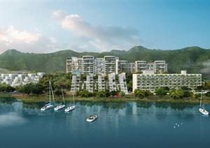 某旅游区内滨水高层住宅