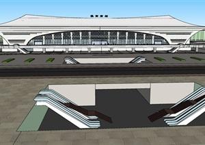 淮南合模含汽车站概念方案
