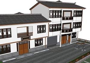 某市川北建筑小房子改造方案