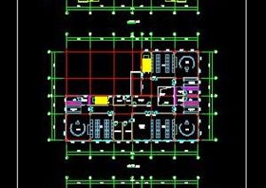 三层9班幼儿园建筑平面方案
