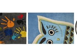 北欧儿童地毯 地毯SU(草图大师)模型
