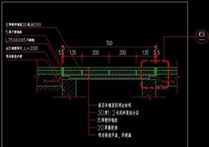 硬质铺装内装饰美化井盖检查井施工图详图