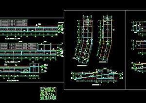 精品地下停車場地下車庫CAD施工圖