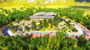 某熊猫馆外部景观设计方案