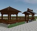 园区门头设计中式建筑