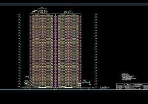某高层小区住宅楼cad施工图